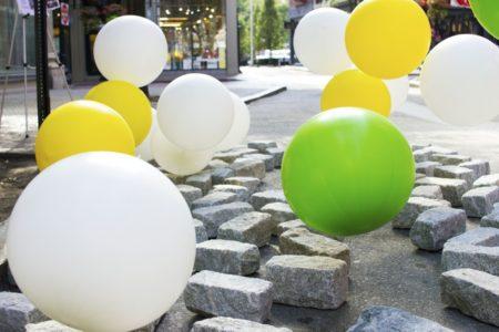 """BDG creates """"Helium Garden"""" for Parking Day 2016"""